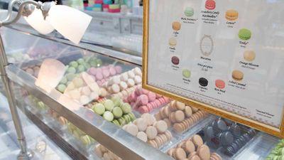 The Ladurée macaron collection