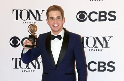 Ben Platt attends the press room for the 71st Annual Tony Awards at Radio City Music Hall on June 11, 2017 in New York City.