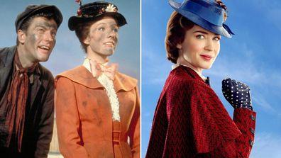Mary Poppins (1964) - Mary Poppins Returns (2018)