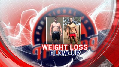 Weight loss blow up