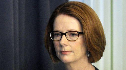 Prime Minister Julia Gillard retains the leadership. (AAP)