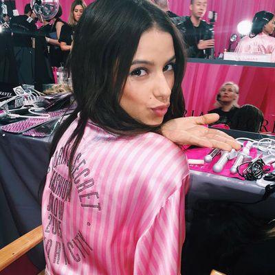 Brazilian model Bruna Lírio is making her Victoria's Secret Fashion Show debut.