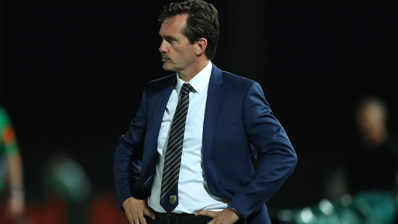 Central Coast Mariners sack coach Mike Mulvey at 1am after 8-2 A-League thrashing