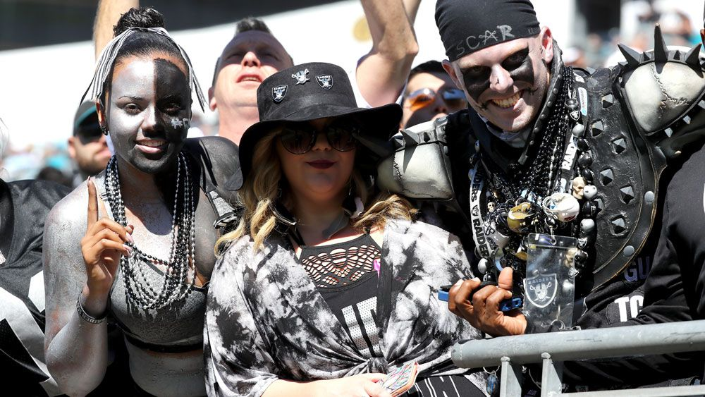 Raider Nation is a famously committed and thirsty group of fans. (AFP)