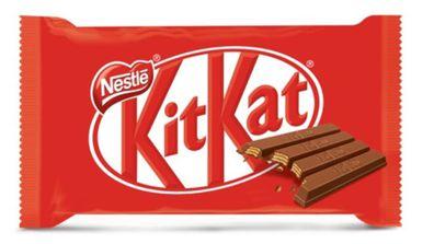 Cheeky mock Kitkat wrapper from Nestle