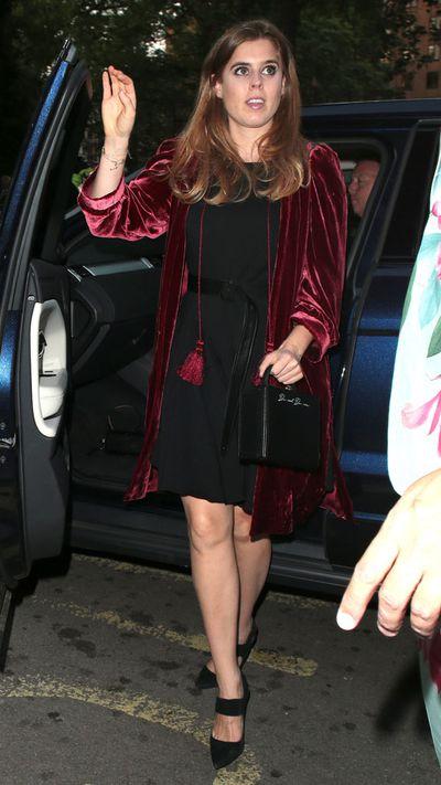 Princess Beatrice attends Dior dinner