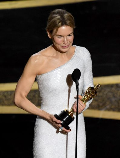 Renée Zellweger, Oscar, 2020, win, speech
