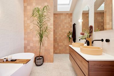 The Block Tanya Vito Room Reveal Bathroom