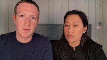 "Mark Zuckerberg and Priscilla Chan say they are ""disgusted"" by President Donald Trump's remarks on the nationwide protests against racial injustice."