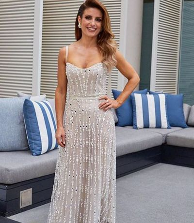Home & Away's Ada Nicodemou in Cassandra Renee Couture at the 2018 Logie Awards