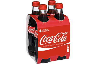 Coca-Cola (330ml): 35g sugar