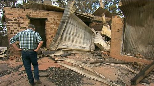 At least 69 homes have been destroyed. (9NEWS)