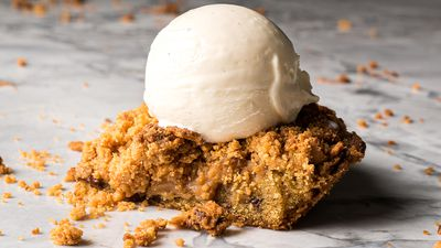 Messina drops at-home bake 'saucy and crunchy' Cone-Ception Cookie Pie Kit
