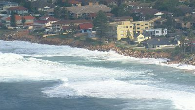 Big waves at Sydney's  Northern Beaches