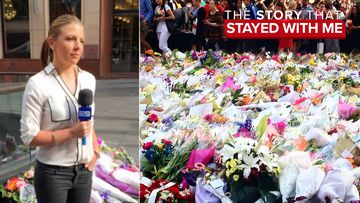 Lizzie Pearl says like many touched by the horrific incident, she found herself sobbing in Martin Place when a young girl came up to me, and asked if she was ok.