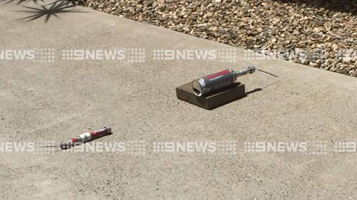 Cairns woman tells of the moment she walked into driveway and saw two pipe bombs