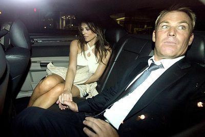 """We've never seen the phrase """"What was she thinking?"""" used so many times in newspaper headlines. She's a supermodel. He's a sweaty Aussie bogan famous for his extra-marital affairs. Seriously, what was she thinking?"""