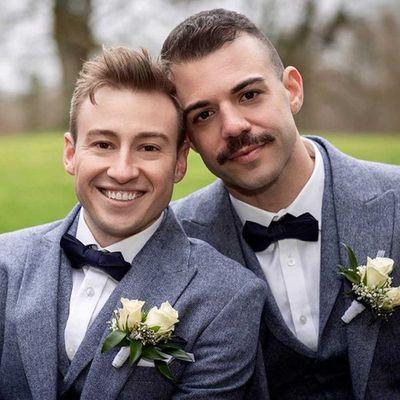 Matthew Mitcham and Luke Rutherford