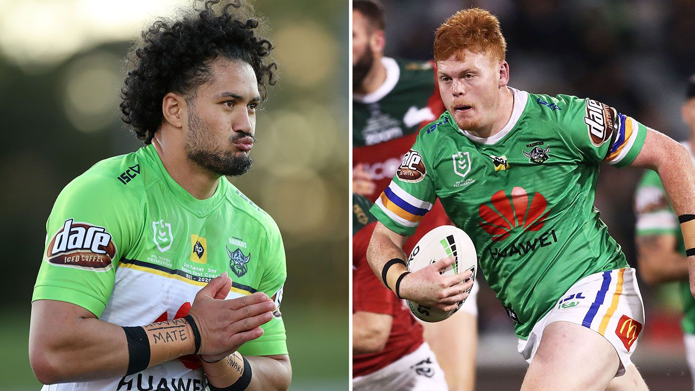 Raiders duo Corey Horsburgh, Corey Harawira-Naera issued with NRL bans over separate drink driving incidents