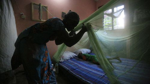 Malaria kills half a million people each year.