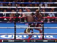 Charlo scores knockout of the year