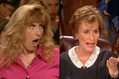 """<b>Judge Judy Perfect Put-down:</b> """"I don't know what you're talking about… are you trying to justify to me the fact that you're an idiot?"""""""