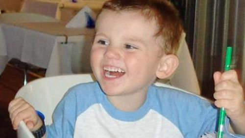 William was three when he disappeared. (Supplied)
