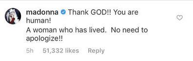 Miley Cyrus, split, statement, celebrities comment, Madonna