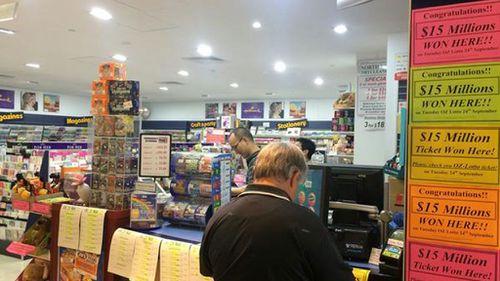 Retired South Australian couple win $15m in Oz Lotto jackpot
