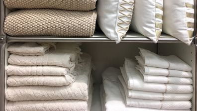 Expert's 5 rules for decluttering your linen cupboard