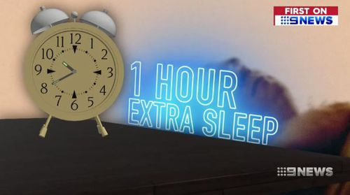 People are getting up to an hours extra sleep thanks to the trial. (9NEWS)