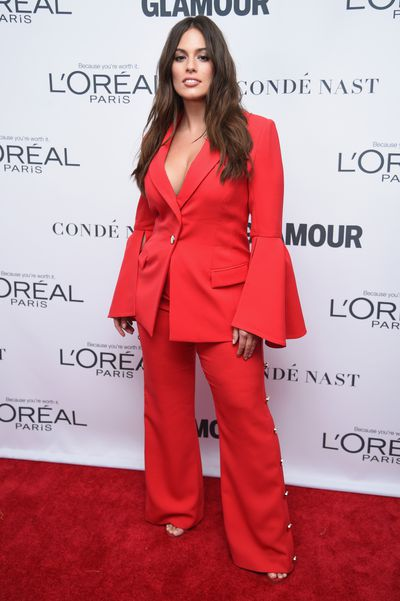 Ashley Graham in Prabal Gurung at the Glamour Women of the Year Awards, November 13.