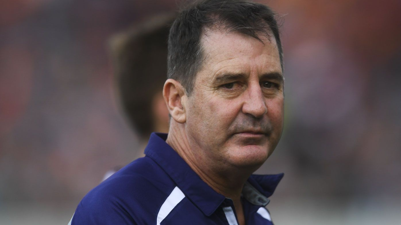 Fremantle Dockers coach Ross Lyon deflects sexual harassment allegations