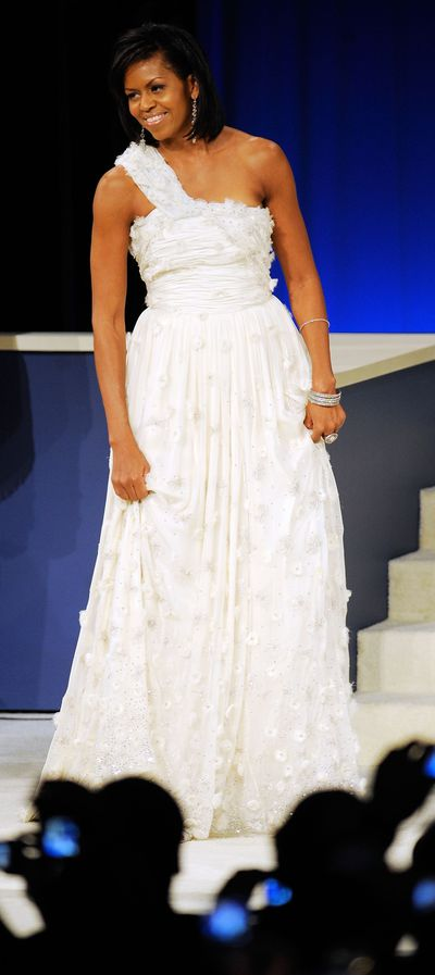 <p>4. Michelle Obama</p> <p>First Lady of the United States 2009-2017</p> <p>Designated Designers- Jason Wu, Prabal Gurung</p>