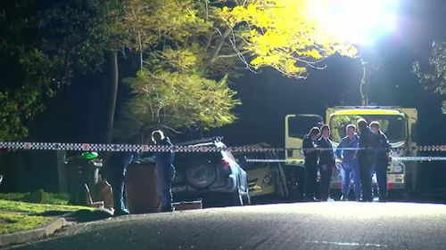 A man's body has been found near the M2 motorway in Sydney's Epping. (9NEWS)
