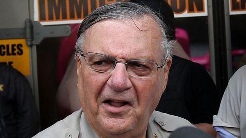 Joe Arpaio, known as 'America's Toughest Sheriff'. (Getty)