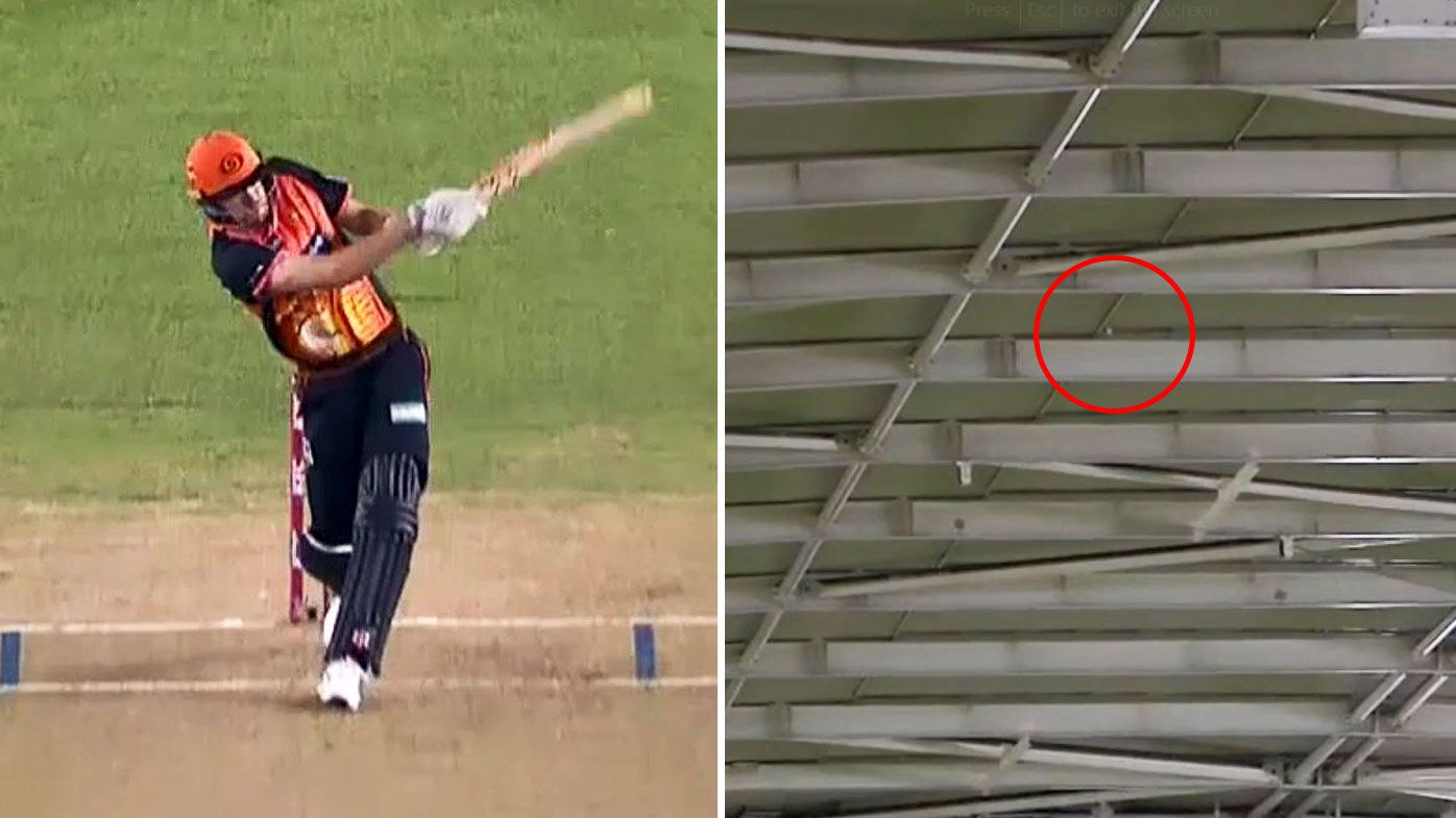 BBL: Perth Scorchers' Ashton Turner handed inaugural roof six after smashing enclosed Marvel Stadium