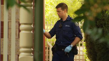 An elderly Unley woman was startled this morning when she awoke to a man inside her home.