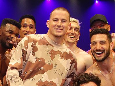 Channing Tatum presents Magic Mike Live .