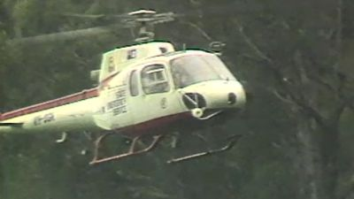 Police also used motorbikes, horses and an SES helicopter to search bushland in the Wacol area.
