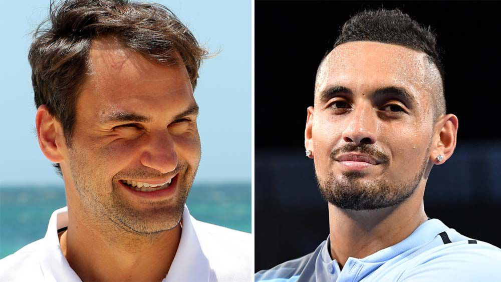 Roger Federer tells us what he really thinks of Nick Kyrgios