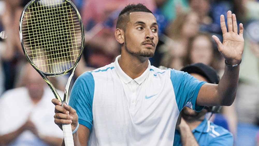 Nick Kyrgios helped by mystery mentor