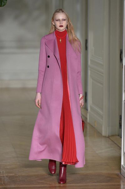 "When <a href=""https://style.nine.com.au/2016/10/01/11/19/christian-dior-runway-ready-to-wear-2017-spring"" target=""_blank"">Maria Grazia Chiuri</a> left her design partnership with Pierpaolo Piccoli at Valentino to take creative control at Dior many people wondered who had been most responsible for transforming the house from the home of Italian La Dolce Vita to a hotbed of on point Victoriana references.<br /> With his second solo ready-to-wear show at Valentino, Pierpaolo showed that he has a singular vision for the house, delivering beautiful dresses with a restrained sexiness and enough edge to keep them contemporary.<br /> There was a diaphanous beauty to these Valentino gowns that inched away from the red carpet to a more accessible vision with this show. The covered-up approach to desire is a welcome treat and we&rsquo;re sure it keeps the company's owners Mayhoola (an investment group backed by the Qatari royal family) very happy. &nbsp;&nbsp;<br /> The show referenced the Memphis Art movement and Victoriana but the final impression is one of beauty, that is purely Valentino.<br /> <br />"