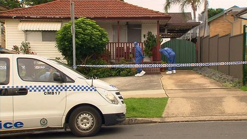 The family home has been left empty and in the hands of police.
