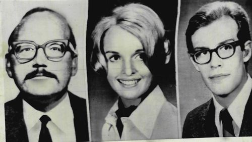 Some of the the Zodiac killer's victims, San Francisco taxi driver Paul Stine, Cecilia Shepard, 22, a college student stabbed to death and Bryan Hartnell, 20, who survived a stabbing.