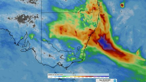 Drought-stricken areas around New South Wales are set for a dumping of rain today as up to 50mm could fall over the coming 48 hours.