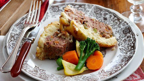 Shepherd's meatloaf
