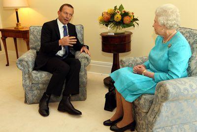 Tony Abbott & Queen Elizabeth