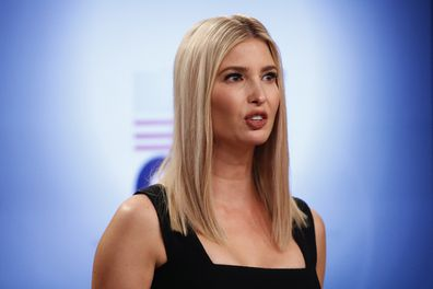 Ivanka Trump speaks during a briefing on the Women's Global Development and Prosperity initiative, Tuesday, Aug. 11, 2020.