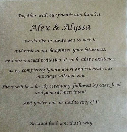 Woman who sent scathing 'anti-invite' to parents for her wedding revealed as Adelaide uni student